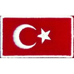 Türk bayrağı-Nakış Arma (Dikdörtgen)
