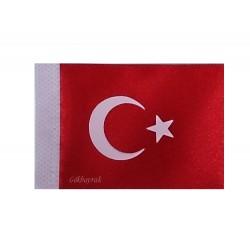 Türk bayrağı-Mini Arma (Baskı) 6x9 cm