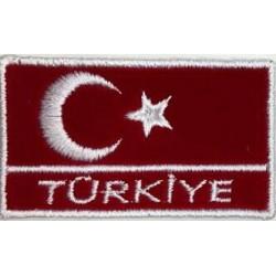 Türk bayrağı-Nakış Arma (türkiye)