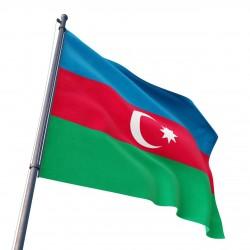 Azerbaycan Devleti Gönder Bayrağı 100x150