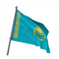 Kazakistan Devleti Gönder Bayrağı 100x150