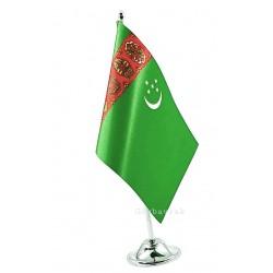 Tekli Türkmenistan  Masa Bayrağı