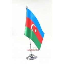 Tekli Azerbaycan Masa Bayrağı