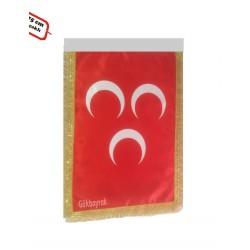 Kırmızı Üçhilal Bayrağı