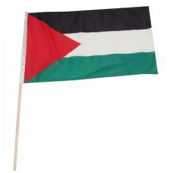 Filistin Bayrağı-50x75 cm (ince kumaş)