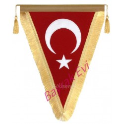 Üçgen Bayrak Flama-35x50 cm